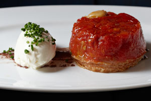 Tomato Tarte Tatin/photo courtesy of FIG restaurant website