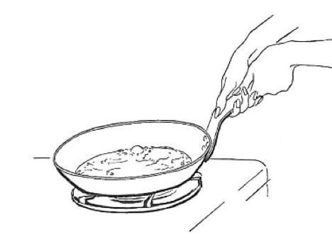 omelette coloring pages | Omelet Coloring Pages